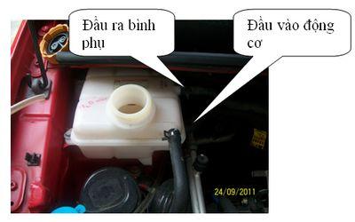 Thay nước làm mát và vệ sinh két nước